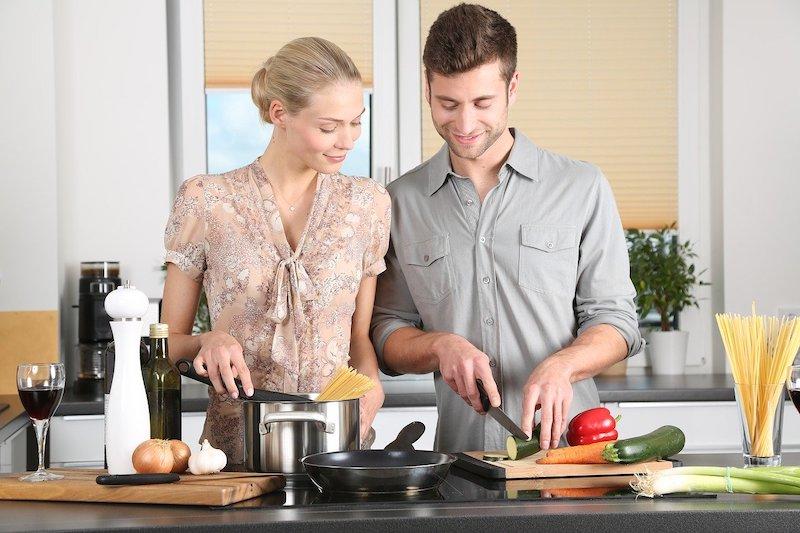 De voordelen van zelf eten/gerechten klaarmaken